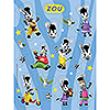 DISCONTINUED ZOU VALUE STICKERS PARTY SUPPLIES