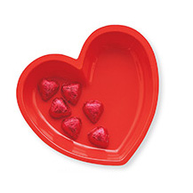 HEART SERVING BOWL PARTY SUPPLIES