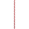 RED-WHITE PAPER STRAWS (144/CS) PARTY SUPPLIES