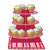 DISCONTINUED HEARTS TIERED SERVER PARTY SUPPLIES