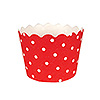 RED POLKA DOT BAKING CUPS PARTY SUPPLIES