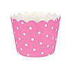 CANDY PINK POLKA DOT BAKING CUPS PARTY SUPPLIES