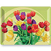 DISCONTINUED BLOOMING TULIPS PLASTIC TRA PARTY SUPPLIES