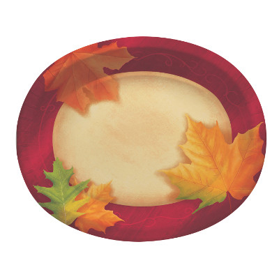 FALL SERVING TRAYS AND PICKS