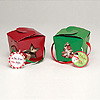 RED & GREEN PINT PAIL PARTY SUPPLIES