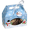SNOWMAN COOKIE BOX (48/CS) PARTY SUPPLIES