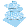 DISCONTINUED SNOWFLAKES TIERED SERVER PARTY SUPPLIES