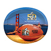 SUPER BOWL L (50) OVAL PLATTER PARTY SUPPLIES