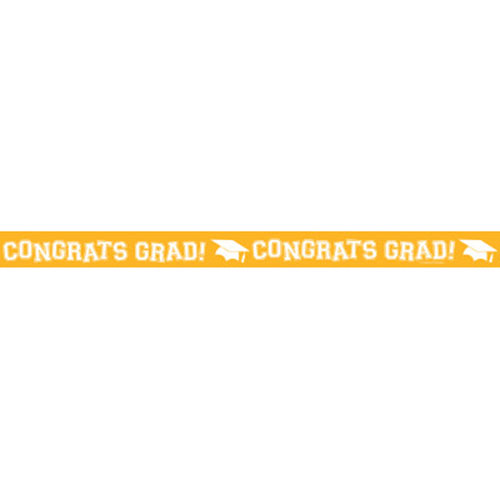 DISCONTINUED YELLOW GRAD CREPE STREAMER PARTY SUPPLIES