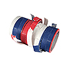 RED-WHITE-BLUE SERPENTINE STREAMERS (6/C PARTY SUPPLIES