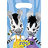 DISCONTINUED ZOU TREAT BAGS PARTY SUPPLIES
