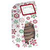 SNOWFLAKE COOKIE BOXES-WINDOWED PARTY SUPPLIES