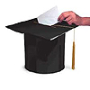 MORTARBOARD CARD BOX LARGE PARTY SUPPLIES
