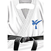 BLACK BELT KARATE BDAY TREAT SACK PARTY SUPPLIES