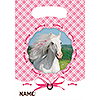 DISCONTINUED HEART MY HORSE TREAT BAG PARTY SUPPLIES