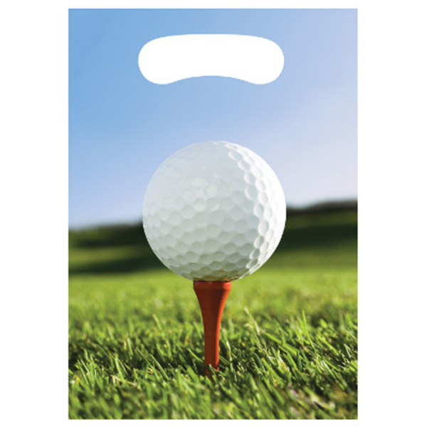 Click for larger picture of SPORTS FANATIC GOLF TREAT BAG PARTY SUPPLIES
