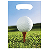 SPORTS FANATIC GOLF TREAT BAG PARTY SUPPLIES