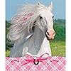 HEART MY HORSE NOTEPAD-STICKER PARTY SUPPLIES