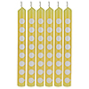 DISCONTINUED LT YELLOW CANDLES PARTY SUPPLIES