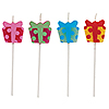 PRESENTS PICK SET CANDLE (48/CS) PARTY SUPPLIES