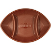 FOOTBALL PLASTIC COMPARTMENT TRAY PARTY SUPPLIES