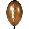 FOOTBALL SHAPED LATEX BALLOON PARTY SUPPLIES