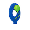 NUMBER 0 BALLOON CANDLE (6/CS) PARTY SUPPLIES