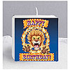 DISCONTINUED BIG TOP BDAY PRINTED CANDLE PARTY SUPPLIES