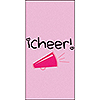 I CHEER SWANKIES (120/CS) PARTY SUPPLIES