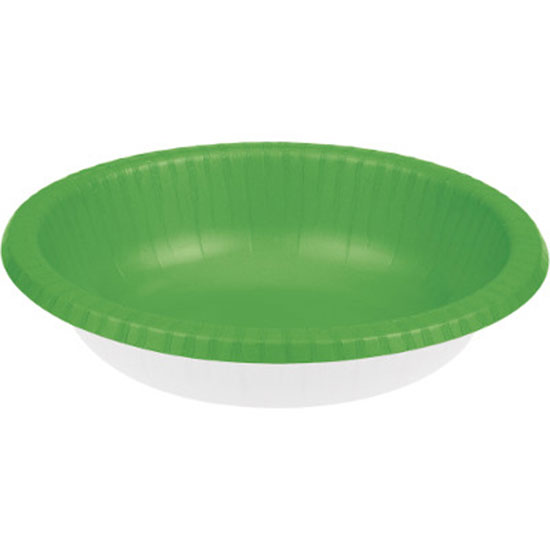 FRESH LIME 20 OZ PAPER BOWL (200/CS) PARTY SUPPLIES
