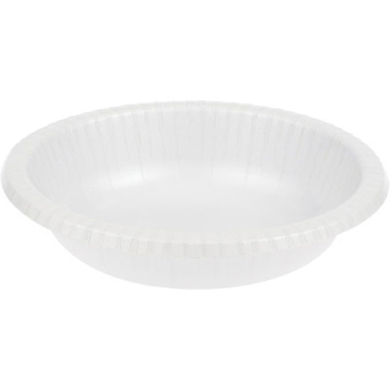 WHITE 20 OZ PAPER BOWL (200/CS) PARTY SUPPLIES