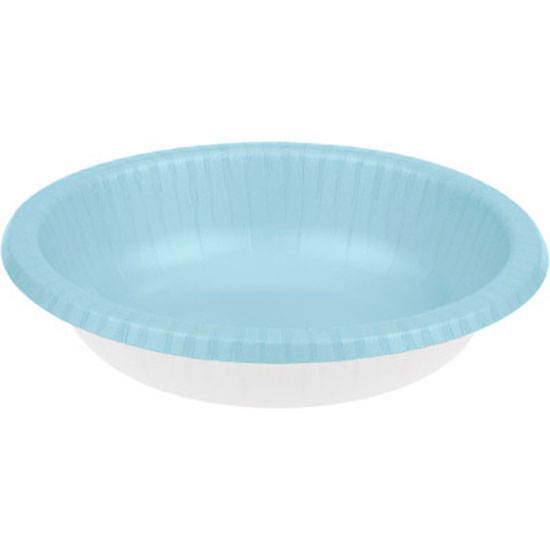 LT BLUE 20 OZ PAPER BOWL (200/CS) PARTY SUPPLIES