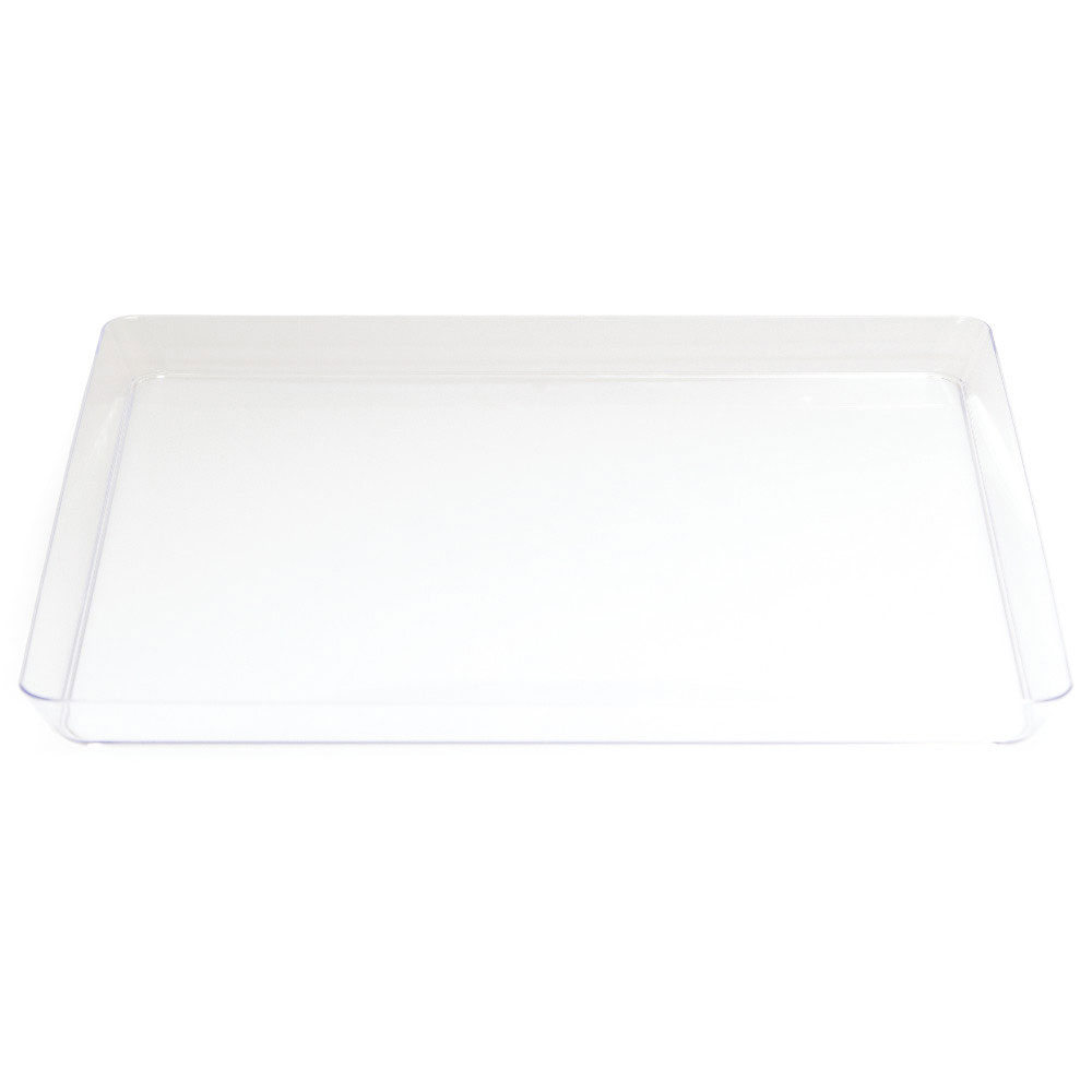 Click for larger picture of CLEAR 11.5 IN.SQUARE TRAY (6/CS)  sc 1 st  Partypro.com & bulk clear plastic plates cutlery party supplies - clear 115 ...