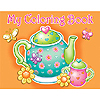 DISCONTINUED TEA FOR YOU! COLORING BOOK PARTY SUPPLIES