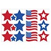STARS-FLAGS TISSUE BALL 12 INCH (216/CS) PARTY SUPPLIES