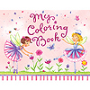 DISCONTINUED GARDEN FAIRY COLORING BOOK PARTY SUPPLIES