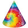 DISCONTINUED TIE DYE FUN HAT PARTY SUPPLIES