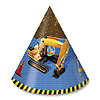 DISCONTINUED UNDER CONSTRUCTION CONE HAT PARTY SUPPLIES