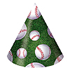 DISCONTINUED BASEBALL HAT CHILD SIZE PARTY SUPPLIES