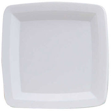 Click for larger picture of WHITE SERVING TRAY (6/CS) PARTY SUPPLIES
