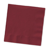 BURGUNDY 3 PLY DINNER NAPKIN PARTY SUPPLIES