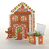 DISCONTINUED GINGERBREAD FAVORBOXES CTRP PARTY SUPPLIES