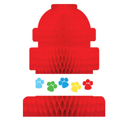 Click for larger picture of PAW-TY TIME! CENTERPIECE (6/CS) PARTY SUPPLIES