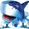 SHARK SPLASH CENTERPIECE PARTY SUPPLIES