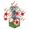 SPORTS FANATIC BASEBALL CENTERPIECE PARTY SUPPLIES