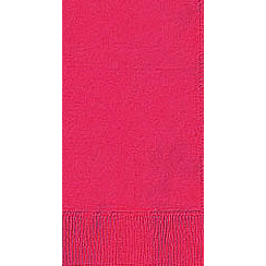Click for larger picture of HOT PINK 2 PLY DINNER NAPKIN (600/CS) PARTY SUPPLIES