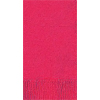 HOT PINK 3 PLY GUEST TOWEL (16 CT.) PARTY SUPPLIES