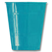 Click for larger picture of 16OZ. TURQUOISE PLASTIC CUP (20CT.) PARTY SUPPLIES