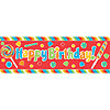 DISCONTINUED SUGAR BUZZ PARTY BANNER PARTY SUPPLIES