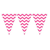DISCONTINUED CHEVRON CANDY PINK FLAG BNR PARTY SUPPLIES
